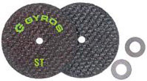 Gyros ST 11-42502/50-Fiberglass Reinforced Cut Off Wheel, 2-1/2-Inch Diameter, 50-Pack