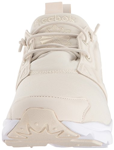 Reebok Womens Furylite Jersey Fashion Sneaker Paper White/White M01gc0pMl