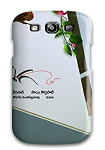 Anti-scratch Case Cover Protective Samantha Eega Case For Galaxy S3
