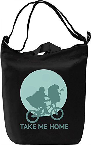 Take me home Borsa Giornaliera Canvas Canvas Day Bag| 100% Premium Cotton Canvas| DTG Printing|