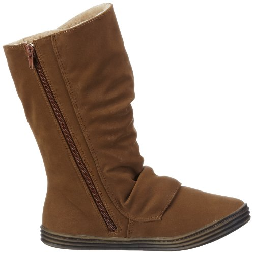 Blowfish Ramish FURR Boot BF2487SH AU12 - Botas para mujer Marrón (earth fawn PU BF223)