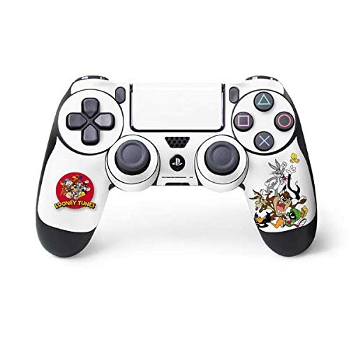 - Skinit Looney Tunes All Together PS4 Controller Skin - Officially Licensed Warner Bros Gaming Decal - Ultra Thin, Lightweight Vinyl Decal Protection