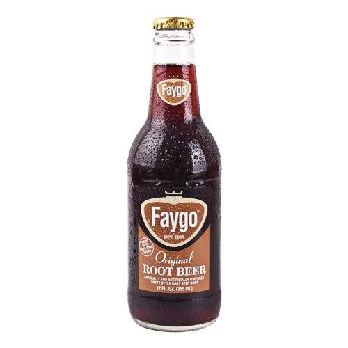 Faygo Root Beer (6 bottles)