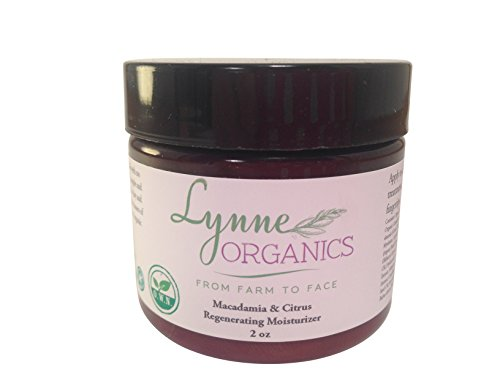 Price comparison product image Organic Facial Moisturizer Lotion w Aloe Vera. Macadamia Citrus Regenerating Face Cream w Green Tea, Hyaluronic Acid for Dry, Oily, Sensitive, Acne Prone Skin. Best Daily Care for Men, Women.