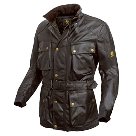 532f99faa1 Belstaff Trialmaster wax jacket brown - XL: Amazon.co.uk: Sports ...
