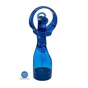 O2COOL Deluxe Misting Fan, 1, Dark Blue