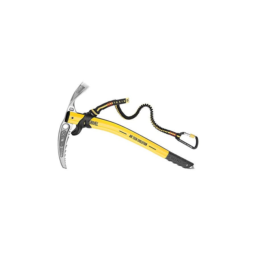 Grivel Air Tech Evolution Ice Axe with Slider Yellow 48