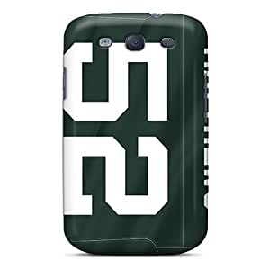 Samsung Galaxy S3 Tvr443dJes Unique Design Vivid Green Bay Packers Skin Shock Absorbent Cell-phone Hard Cover -ChristopherWalsh