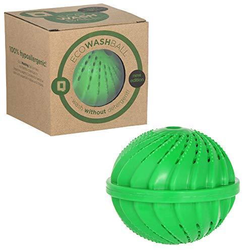 Bola Qualtex Eco Magic para lavadora. Lava y suaviza las prendas ...