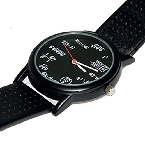 Math Equation Watch by MyPartyShirt