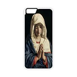 """The virgin Mary and angel Hard Plastic phone Case Cover+Free keys stand For Apple Iphone 6,4.7"""" screen Cases ZDI044036"""