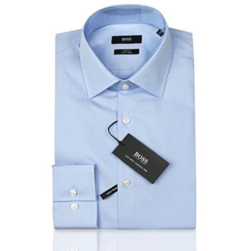 235fd10e7899d Envio gratis Hugo Boss - Camisa formal - Ajustado - para hombre azul ...
