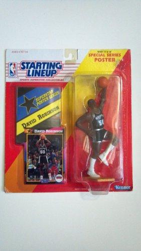 (1992 David Robinson San Antonio Spurs Starting Lineup Basketball Dream Team)