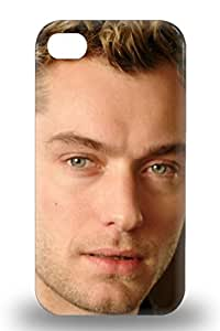 Iphone Slim Fit Tpu Protector Jude Law The United Kingdom Male The Grand Budapest Hotel Shock Absorbent Bumper 3D PC Case For Iphone 4/4s ( Custom Picture iPhone 6, iPhone 6 PLUS, iPhone 5, iPhone 5S, iPhone 5C, iPhone 4, iPhone 4S,Galaxy S6,Galaxy S5,Galaxy S4,Galaxy S3,Note 3,iPad Mini-Mini 2,iPad Air )