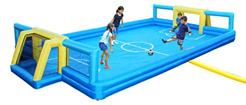 Sportspower Inflatable Soccer Field, Outdoor Soccer Arena for Kids ()