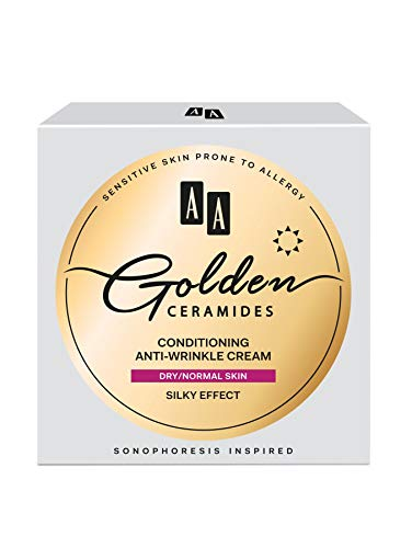 AA Golden Ceramides Conditioning anti-wrinkle day cream, dry/normal skin, 50 ml