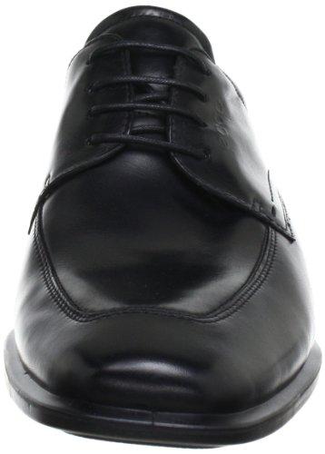 Ecco ECCO CAIRO - Zapatos con cordones de cuero hombre Negro (BLACK1001)