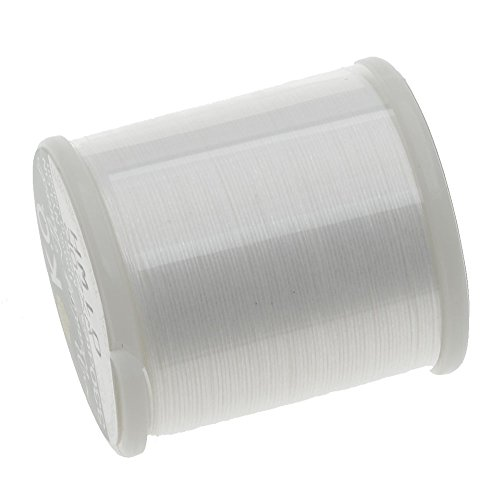 - KooK K.O. Japanese Nylon Beading Thread for Delica Beads, 50m, White