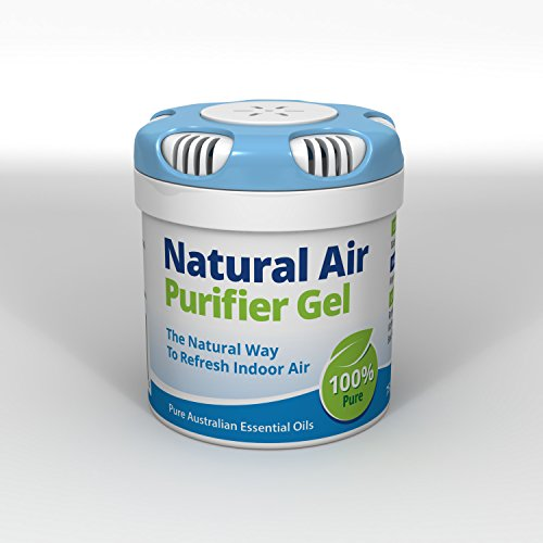 L.R.T Natural Air Purifier Gel. Air Freshener, Deodorizer and Purifier In A Portable Canister - 100% Natural Odor Eliminator and Mold Remover. For Home, Car, Boat, Office. 2.6oz/75gm
