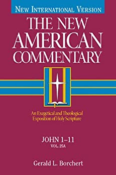 The New American Commentary Volume 25A - John I-II by [Borchert, Gerald  L.]