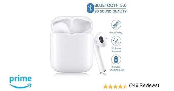 WULIZZYB Auriculares Bluetooth Auriculares inalámbricos ...