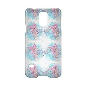 Waves Samsung S5 3D wrap around Case - Design 8