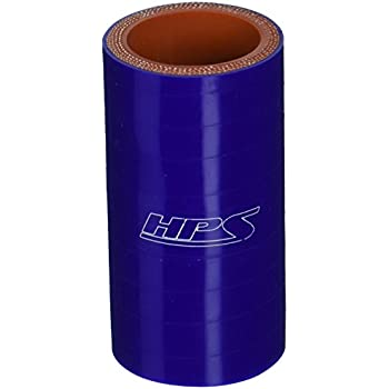 3 Length 3//4  1-1//2 ID 100 PSI Maximum Pressure HPS HTSR-075-150-BLUE Silicone High Temperature 4-ply Reinforced Reducer Coupler Hose Blue