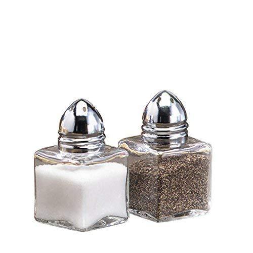 (Tablecraft 30S&P Mini Cube Salt and Pepper Shaker 0.5 oz (SET OF 24 PER CASE))