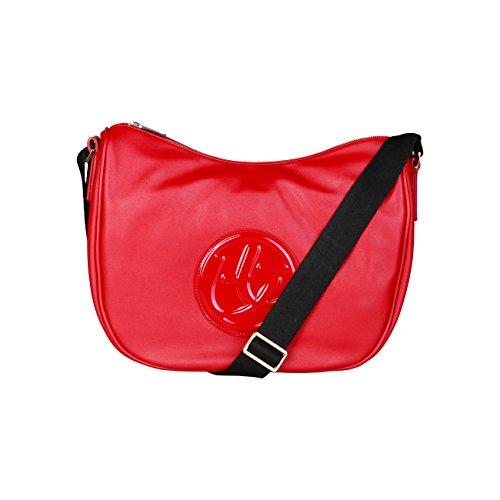 Body Cross Bag Blu Byblos Women Red Genuine Designer Crossbody qT5fHz