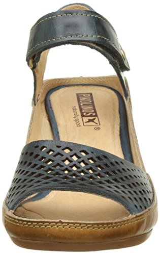Ocean One Size Brown Capri Blue Heels v17 Women's All W8f Fits Wedge Pikolinos Sandals g8qxOpzwT