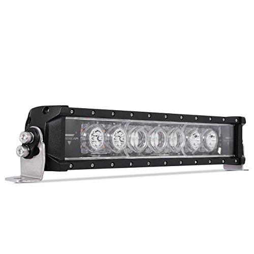 "Auxbeam Single Row Led Light bar 16.5"" 49W Slim Light Bar Am"