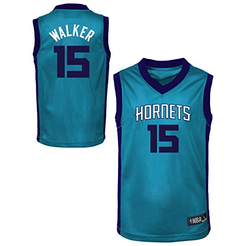 - Outerstuff NBA Toddler Team Color Player Name & Number Replica Road Jersey (2T, Kemba Walker Charlotte Hornets)