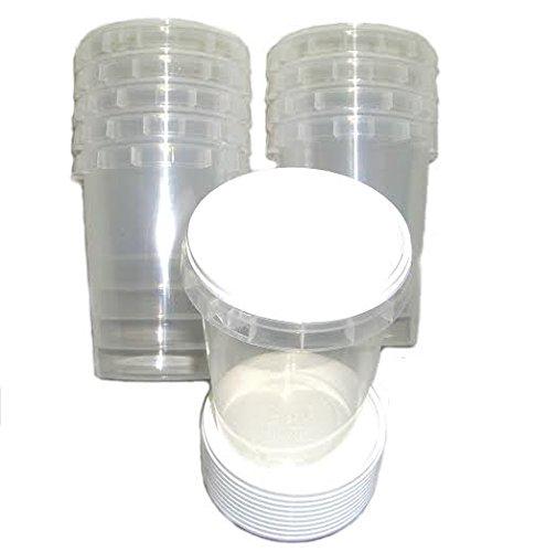 100plastique durable 500g Miel bocaux/pots (0, 5kilogram) Simonthebeekeeper