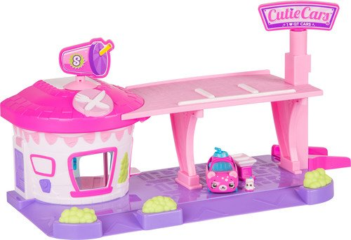 Cutie Cars Shopkins Drive Thru Diner Playset