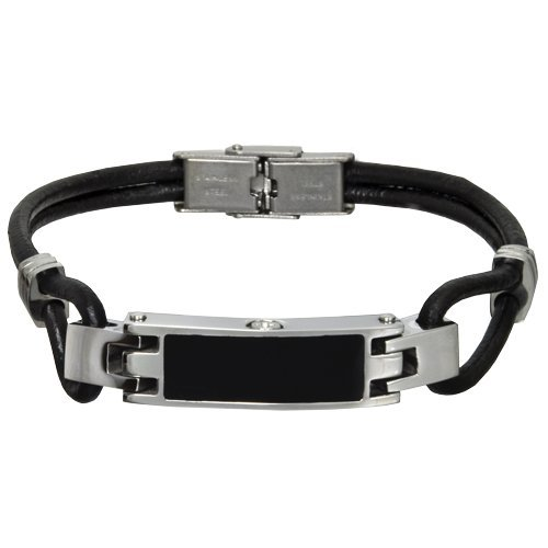 8\ Memorial Gallery 6102-8 Stainless Steel Bracelet Cremation Pet Jewelry, 8