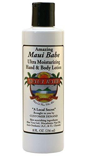 Maui Babe Moisturizing Hand and Body Lotion 8 Ounces