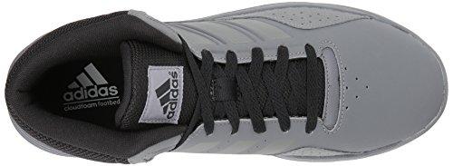 Scarpa Da Basket Adidas Neo Mens Cf Ilation Mid Grigio / Grigio Quattro / Nero