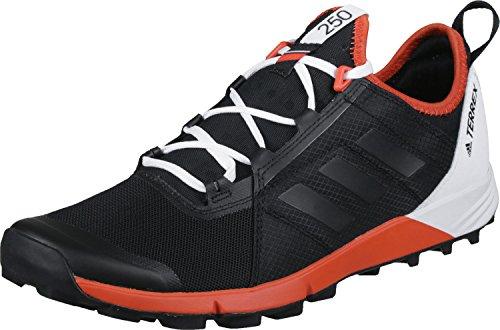 adidas Terrex Agravic Speed, Botas de Montaña para Hombre, Negro (Nero Negbas/Negbas/Energi), 40 EU