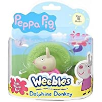 Peppa Pig Weebles Wave 2 Delphine Burro