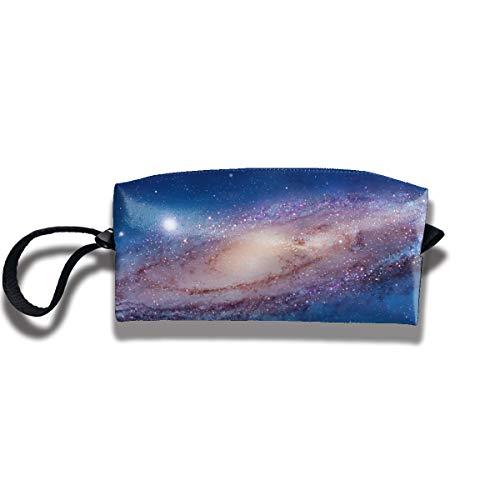 Cosmetic Bags With Zipper Makeup Bag Vortex Sky Middle Wallet Hangbag Wristlet Holder