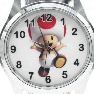 XINKANG Super Mario Regarder 2020 Super Mario Crapaud Montre Quartz Kids Sports Mode Cartoon Watch Montre-Bracelet Boy Étudiants Noël Relogio Montre Cadeau