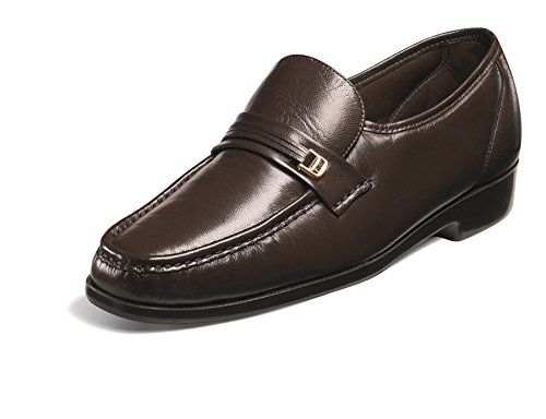 Florsheim Men's Riva Brown Nappa Kid Loafer 12 D (M)