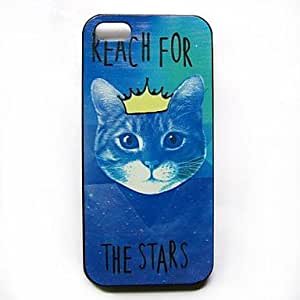 Zaki ships in 48 hours Animal Cat Pattern Hard Case for iPhone 5/5S