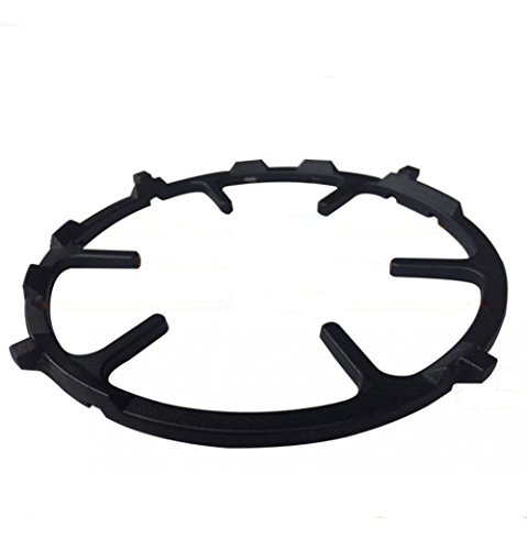Non Slip Black Cast Iron Stove Trivets for Kitchen Wok Support Ring Cooktop Range Pan Holder Stand Stove Rack Milk Pot Holder for Gas Hob – Gas Stove accessories