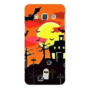 """Disagu Design Protective Case para Samsung Galaxy A3 (2015) Funda Cover """"Scary House"""""""