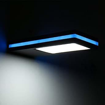 ELINKUME Solar LED Wall Light Fixture,Outdoor Solar Motion Sensor Pathway Lights,Cool Light,Blue Light Side Lighting,Waterproof