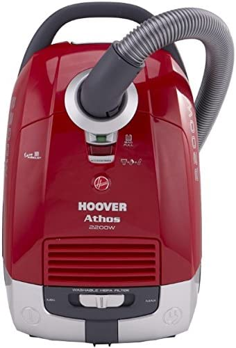 Hoover Athos 2200 W - Aspiradora (2200 W, Aspiradora cilíndrica, Secar, Bolsa para el polvo, 5 L, HEPA): Amazon.es: Hogar