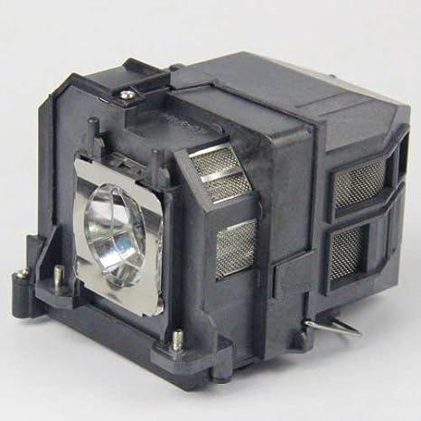 BrightLink 485Wi EB-475W Supermait EP71 Lampada sostitutiva per proiettore con alloggiamento per Epson Elplp71 EB-470 EB-1400Wi adatta per BrightLink 475Wi BrightLink 480i EB-1410Wi