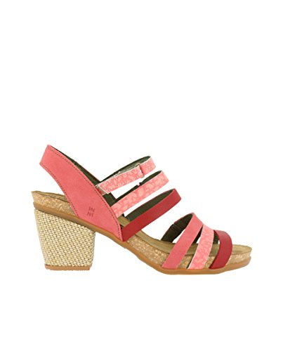 El Naturalista N5030 Soft Grain Sandalo Mixed/Mola Pink Woman Sandals Elastic yY0fWh