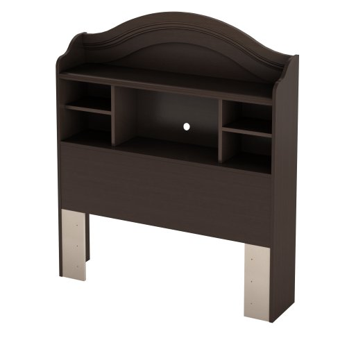 Savannah Bookcase (South Shore Savannah Twin Bookcase Headboard, Espresso)